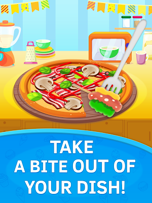 Baby Kitchen. Pizza chef free - screenshot