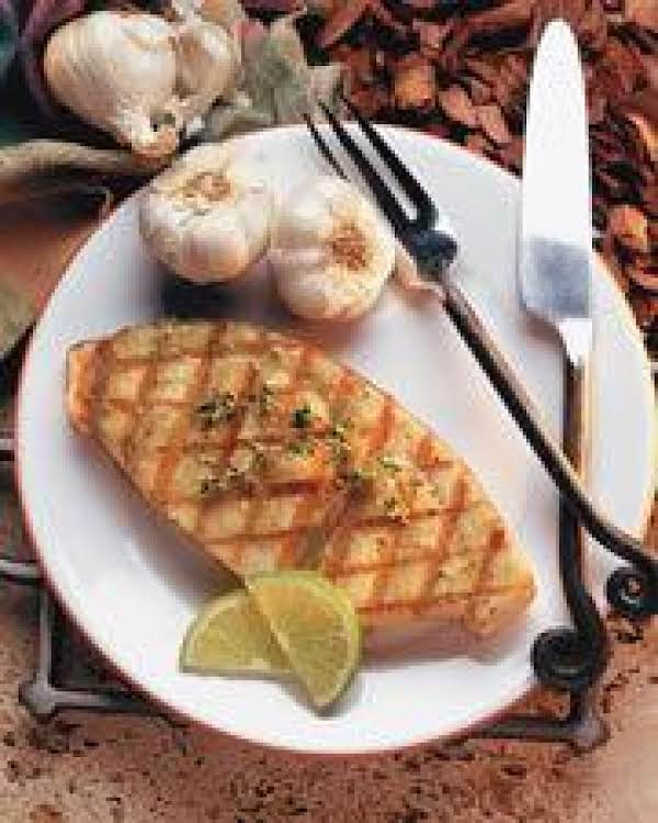 Lime Pepper Grilled Wahoo Recipe