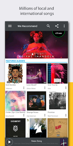MusicTime! Time based music streaming for MTN 1.1.1 screenshots 1