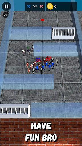 Street Battle Simulator - autobattler offline game apkmr screenshots 17