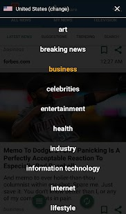 NewsShare - náhled