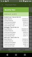 Screenshot of Debt Payoff Planner