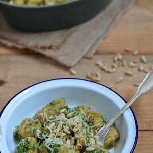 Pumpkin Gnocchis with Coriander Pesto