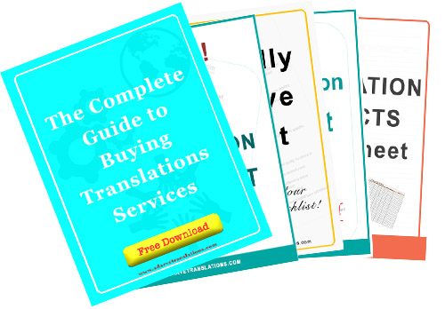 Download free resources, such as e-books, spreadsheets and worksheets, that will help you on your everyday tasks as a translator or a user of translation services.