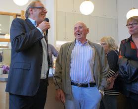 Photo: Roeland Rengelink en Jan Bosman. Foto Marja Heimering