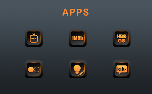 Orange Dude Icon Pack v1.8.0 [Patched] 4