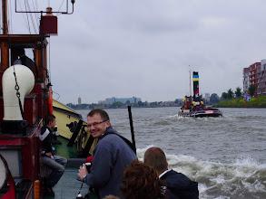 Photo: Ook de passagiers hebben lol in de wedstrijd met de Maarten