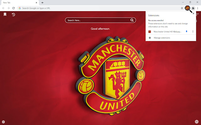 Manchester United Backgrounds New Tab