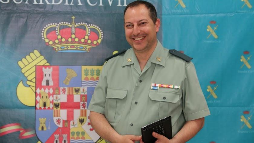 David Domínguez, en Almería