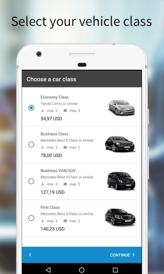 Blacklane - Airport Transfers- screenshot