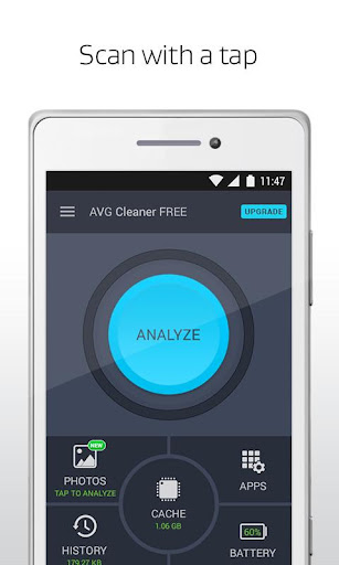 AVG Cleaner for Android phones screenshot 1