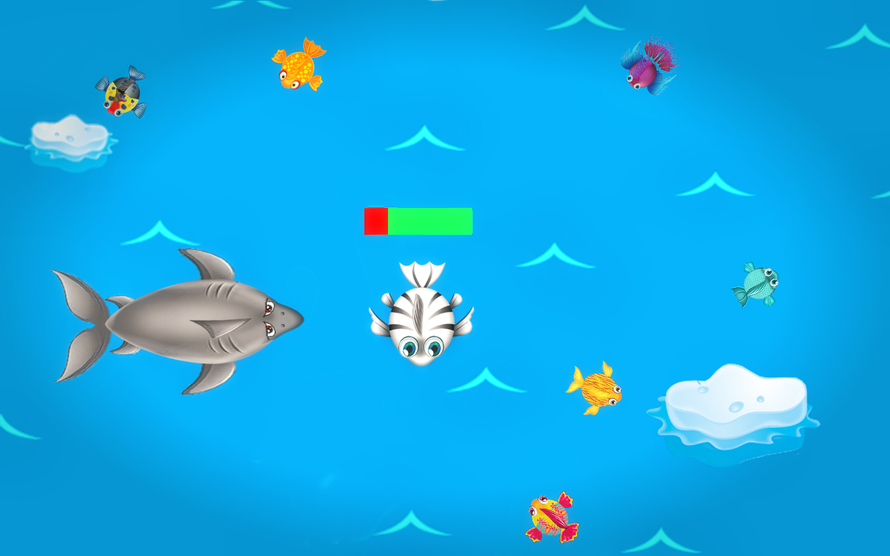 Plump fish eating frenzy fish game android apps on for Fish eat fish game