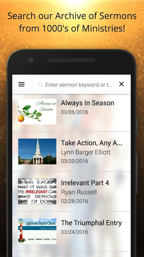 sermon.net- screenshot