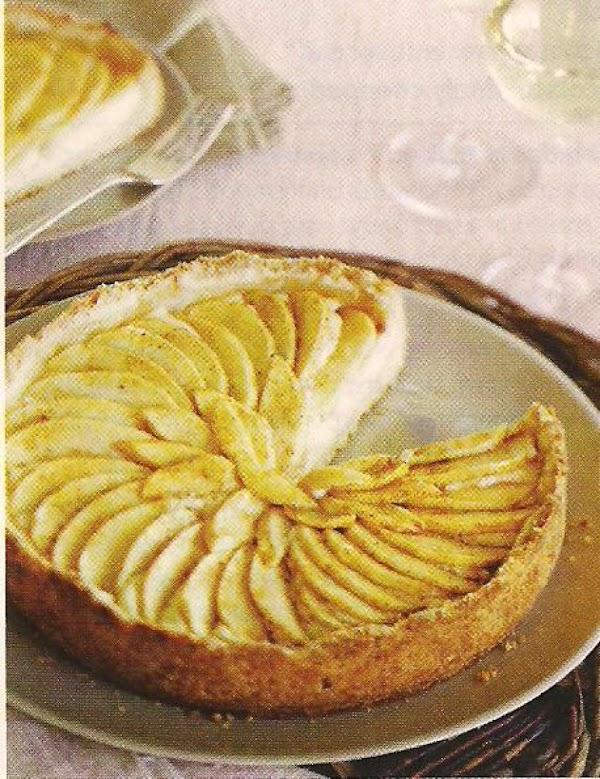Macadamia Crusted Apple Tart Recipe