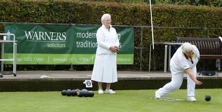 Photo: Chris bowls another one of her specials.