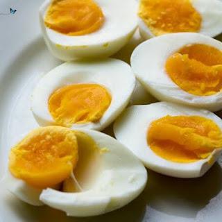 Medium Boiled Eggs.