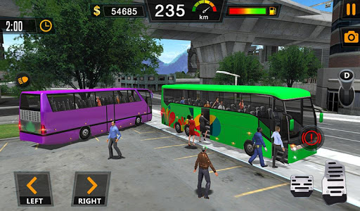 Auto Bus Driving 2019 - City Coach Simulator 1.0.4 Screenshots 11