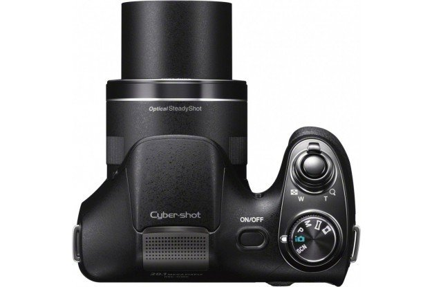 Расположение элементов управления камерой SONY Cyber-Shot H300