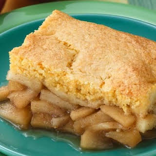 Cornbread-Apple Cobbler.