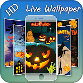 Happy Halloween Slideshow Live Wallpaper 2018