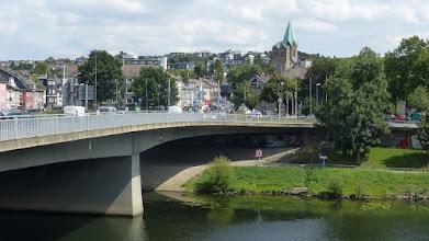 Photo: Werden; Gustav-Heinemann-Brücke
