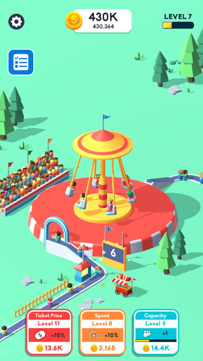 Idle Swing Ride mod apk 0.1 screenshots 4