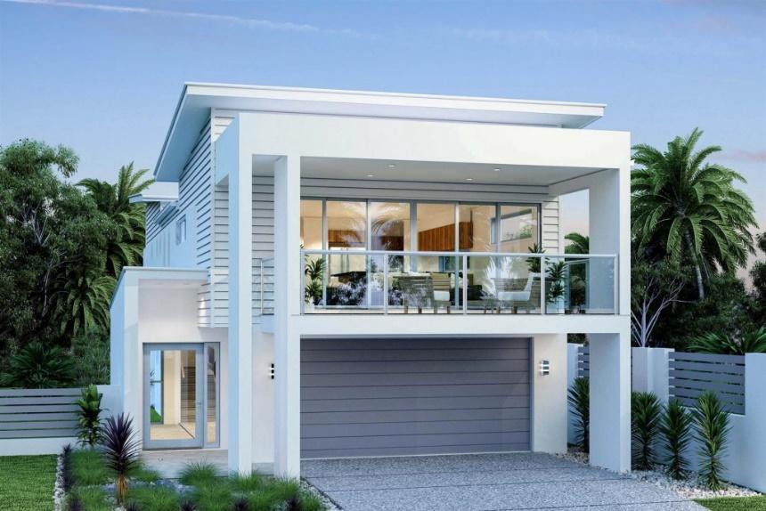 G.J. Gardner. Home design - Hamilton 266, a small lot house.