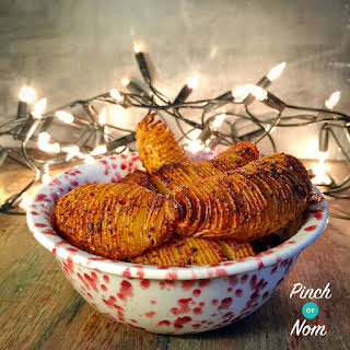 Chipotle Hasselback Potatoes.