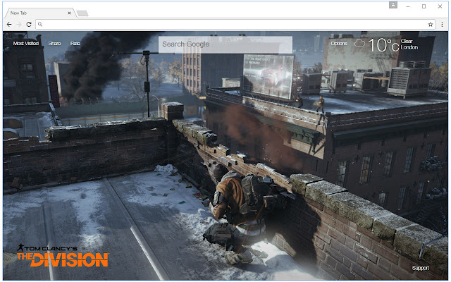 The Division Wallpaper HD New Tab Themes
