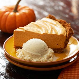 No Bake Pumpkn Pie a la Mode.