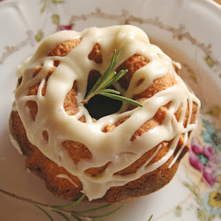 Olive Oil Cakes With Orange Glaze.