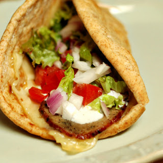 Gyros On The Grill