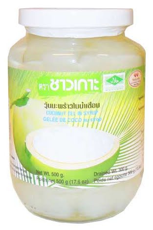 Coconut Gel in Syrup 500 g Chaokoh
