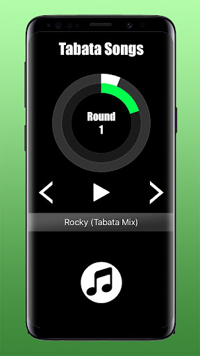 Screenshot for Tabata Songs App- Tabata Workout Music & Timer in United States Play Store