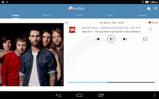 Screenshot of Audials Radio