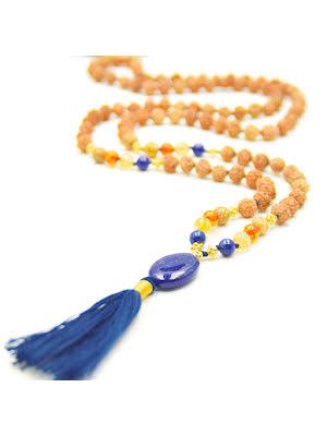 Divine Insight Mala halsband med lapis lazuli