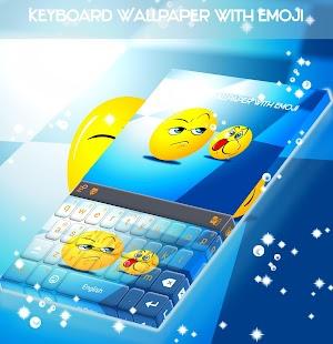 Klávesnice Tapeta s Emoji - náhled