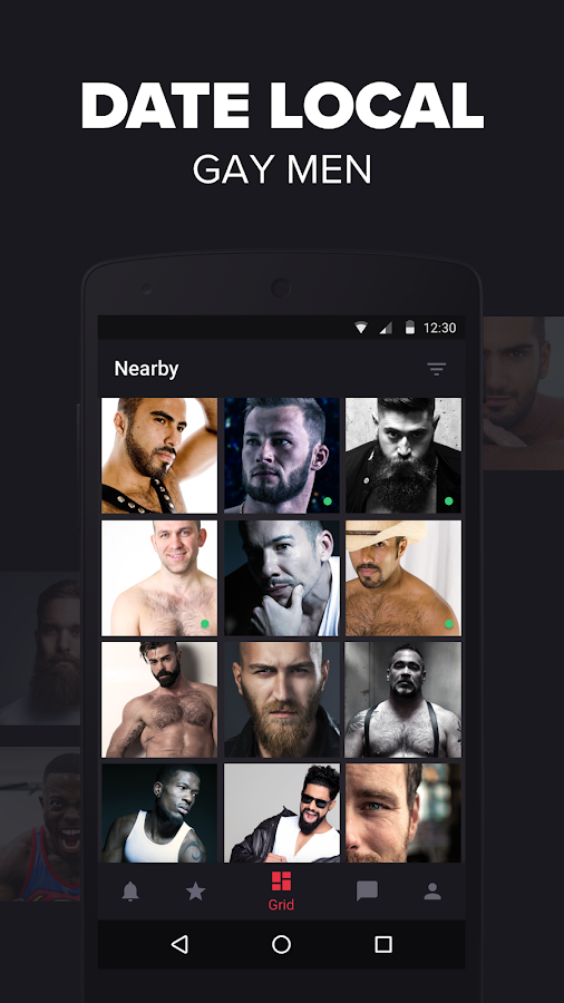 Grizzly - Gay Dating and Chat- screenshot