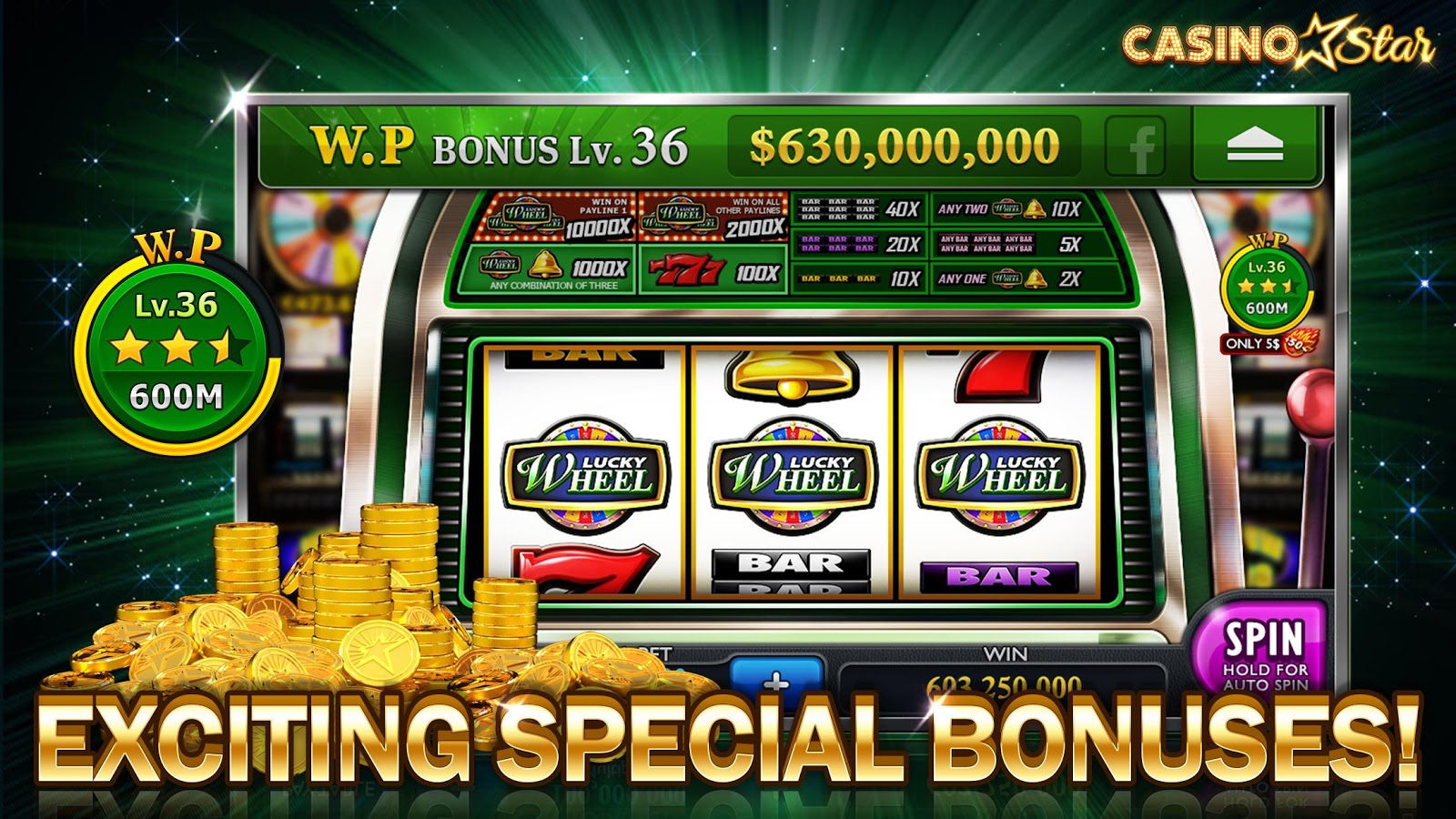 CasinoStar – Free Slots- screenshot
