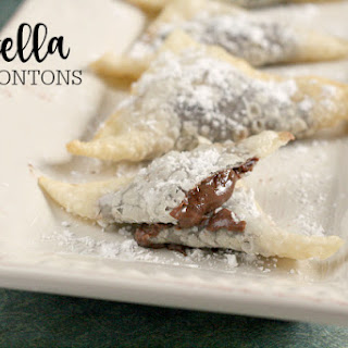 NUTELLA WONTONS Recipe