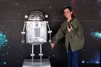 Photo: Space Center Robot exhibit