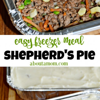 Freezer-Friendly Shepherd's Pie.