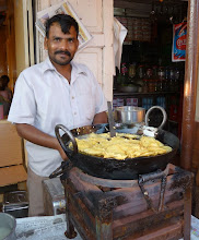 Photo: Morning Breakfast Deep Fry This was a little restaurant out of the way where the locals ate. The tourist restaurants were very upscale and expensive Breakfast here cost about 20 rupees Matheran Maharashtra