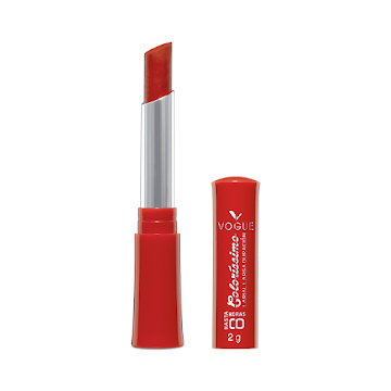 Labial en Barra Vogue Colorissimo Larga Duración Coral 2GR