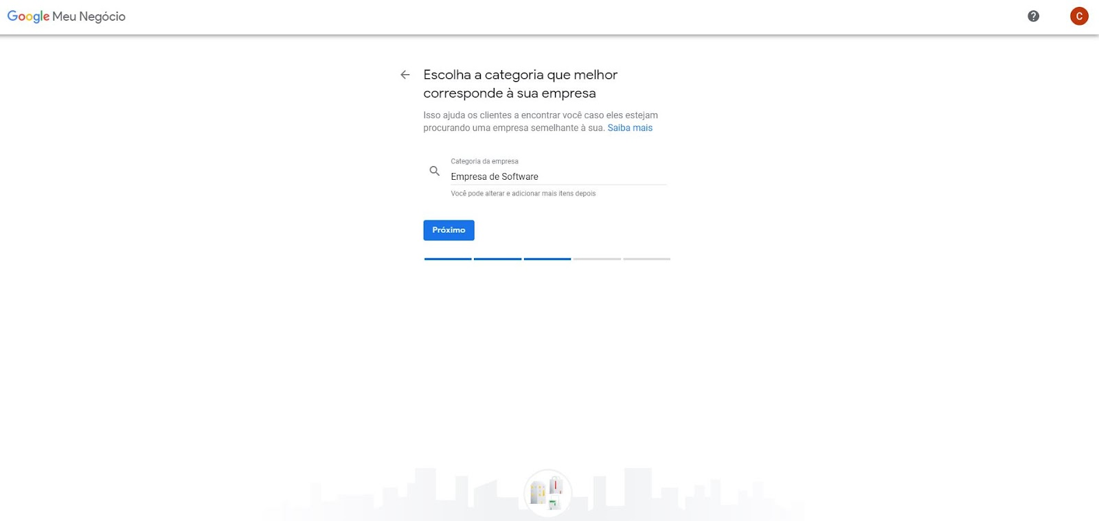 configurar google my business