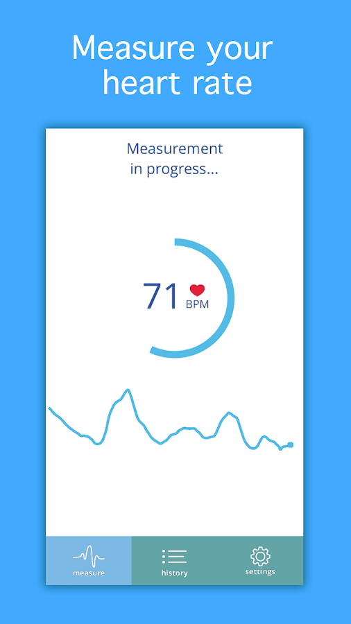 Heart Rate Monitor PRO- screenshot