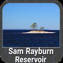 Sam Rayburn Offline Gps Fishing Chart icon