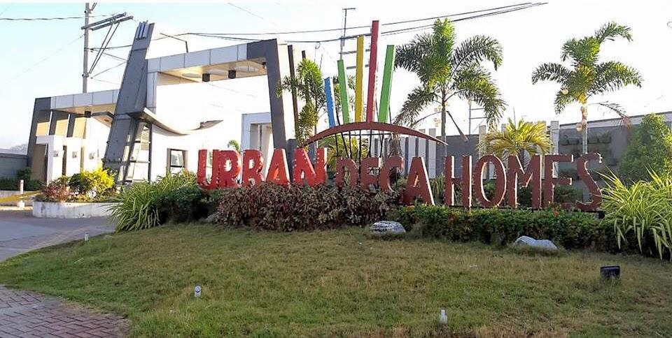 Urban Deca Homes Marilao, Bulacan entrance