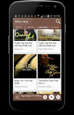 Nhac Vang - Nhạc Vàng Chọn Lọc - screenshot