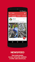 Screenshot of MYHERO - The Community App